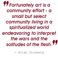 ginsberg quote home